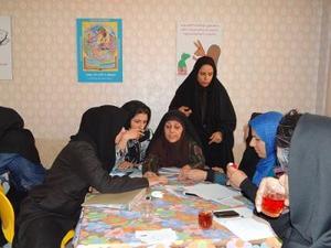 مربیان با من بخوان محله حسن آباد مشیر یزد با تئاتر شورایی آشنا شدند!