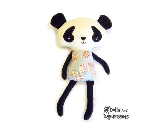 Panda PDF Sewing Pattern