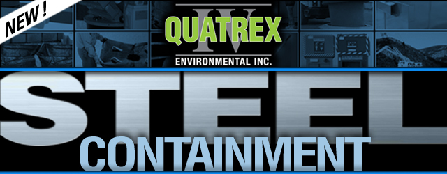 Quatrex Sale - 4 Drum Covered Steel Containment Units
